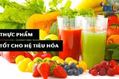 Những thực phẩm tốt cho hệ tiêu hóa