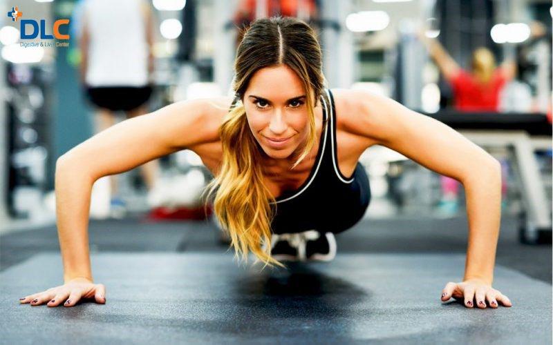 Tập thể dục để cải thiện hệ tiêu hóa
