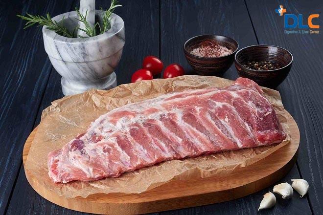 Thịt heo nạc giúp tăng cân hiệu quả